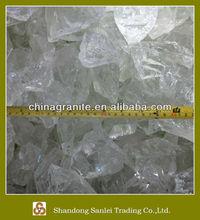 crushed glass rock