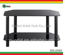 model design glass tv cabinet
