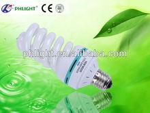 YIwu futian market 220V B22/E27 PC 12mm 4T Full Spiral 35W CFL