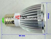 5W 5 leds lights light bulbs par 20 spot lights