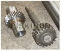 Spur Gear, Helical Gear, Shaft, Spie