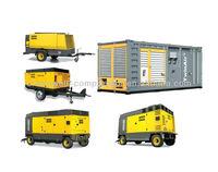 Atlas Copco Portable Air compressor(Atlas Copco mobile screw air compressor) AC Compressor Model XAMS850 XATS800 XAHS710 XAVS650