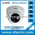 1/3 sony ccd da câmera dome vandalismo infravermelho interior, mini câmeras de segurança cftv, camaras de la seguridad