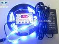 Ip65 5 M 300 leds 12 V / 24 V música multicor controle fluorescein tiras