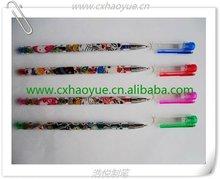 16 colors popular scented glitter gel pens