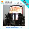 Shenzhen Sunrise new product advertising P10 solar powered led signs