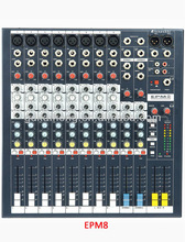 8-Channel Pro Audio Mixer Console Mixing Board Studio Sound