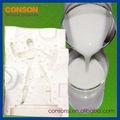 adición cura de silicona líquida de uretano de goma del molde
