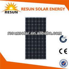 280W for 24V system Mono Solar Panel with CE/TUV/IEC certificate low price per watt