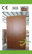 fsc 3 door modern melamine closet design factory