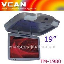 "CAD-1980 19"" flip-down big monitor"