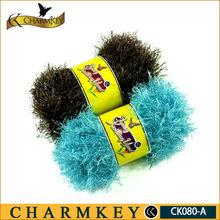 crochet fancy yarn fur feeling