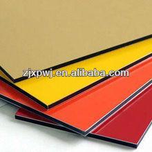 Pvdf coating 4mm aluminum composite panel,aluminum cladding composite panel for sale