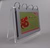 New Design Photo Frame Acrylic Desk Calendar 2014
