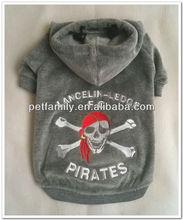 2013 new products pirates dog winter coat fashion dog coat and jacket dog articles