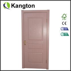 HDF molded door interior door manufacturer China