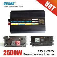 2500w household pure sine wave 24v dc inverter driver