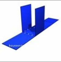 Blue Rectangle Portable Easily Foldable Children Unique Toy Box