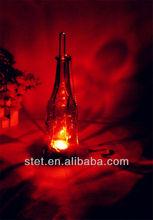 Colgantes candelabros de la boda de decoración de botellas