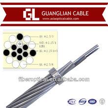 110kv aluminum steel tape opgw ground wire