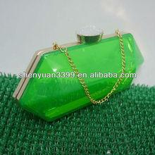 Dongguan make evening bag studded skull box evening bag
