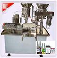 Alta velocidade shampoo/gel/cola de enchimento pluging máquinadetampar, máquinadeetiquetas