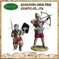 Polyresin estátuas de soldados, centurion para decoração