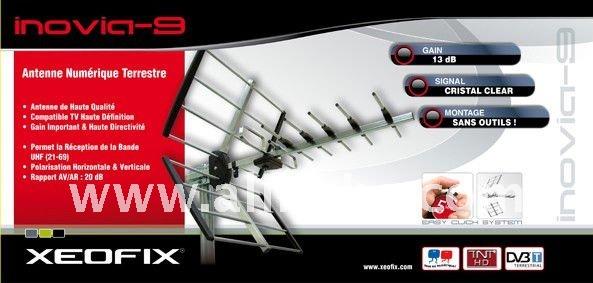 XEOFIX INOVIA-9 OUTDOOR TV ANTENNA