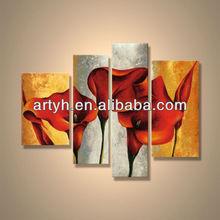 Popular modern decorative handmade acrylic painting culture