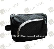 art. CB-LV1071 Black Cheap Nylon Promotion Cosmetic Bag