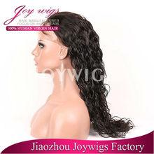Virgin malaysian hair glueless wig with top quality/malaysian virgin curly hair lace wig