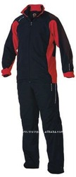 red and black tracksuits
