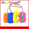 Silicone Rubber Coin Purse Purple Color Cute Silicon Wallet Purse Silicone Key purse Candy Colors