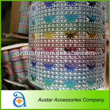 Wholesale colorful plastic mesh for cake decoration