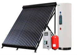 solar water heater, solar hot water heater, solar panels, evacuated heat pipe solar collector, heat-pipe vacuum tube, flat plate