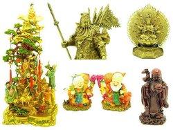 Feng Shui Deities And Guardians Sculptures