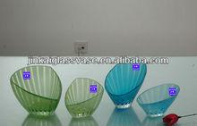antique blue glass vase