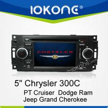 Car Multimedia GPS Navigator for Chrysler 300C/PT Cruiser/Dodge Ram/Jeep Grand Cherokee