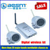 2.4GHz pinhole lens camera Built-in microphone for audio monitoring wireless camera BS-W297