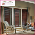 wood blinds window covering with wide ladder tape cord tilt 50mm Basswood slats