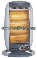 ningbo 4heat halogen heater 1200W 800W 400W 1600W with remote control mini heater