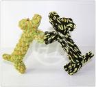 Handmade pet toy dog shape