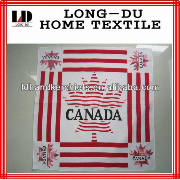 new design good quality Canada flag fashion bandana