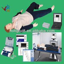 Advanced AED and trauma Sims CPR manikin first aid equipment