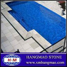 Natural white limestone project for swimming pool