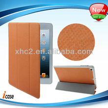Factory price! High quality magnetic tri-fold smart cover for iPad mini