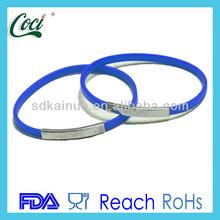 custom most popular silicone bracelet