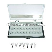8 mm Cheap Factory Individual False Eyelashes (Eyelash Extension n Professional Glue)