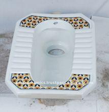 Designer square toilet