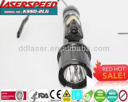 GUN LIGHT+LASER/best tactical 500Lum flashlight +5mw green laser sight